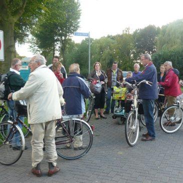Foto's fietstocht 5 september door West