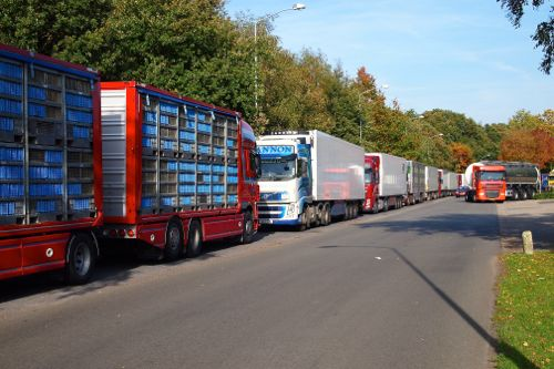 Minder vrachtverkeer