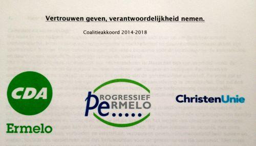 Vertrouwen geven, verantwoordelijkheid nemen  –  coalitieakkoord 2014-2018